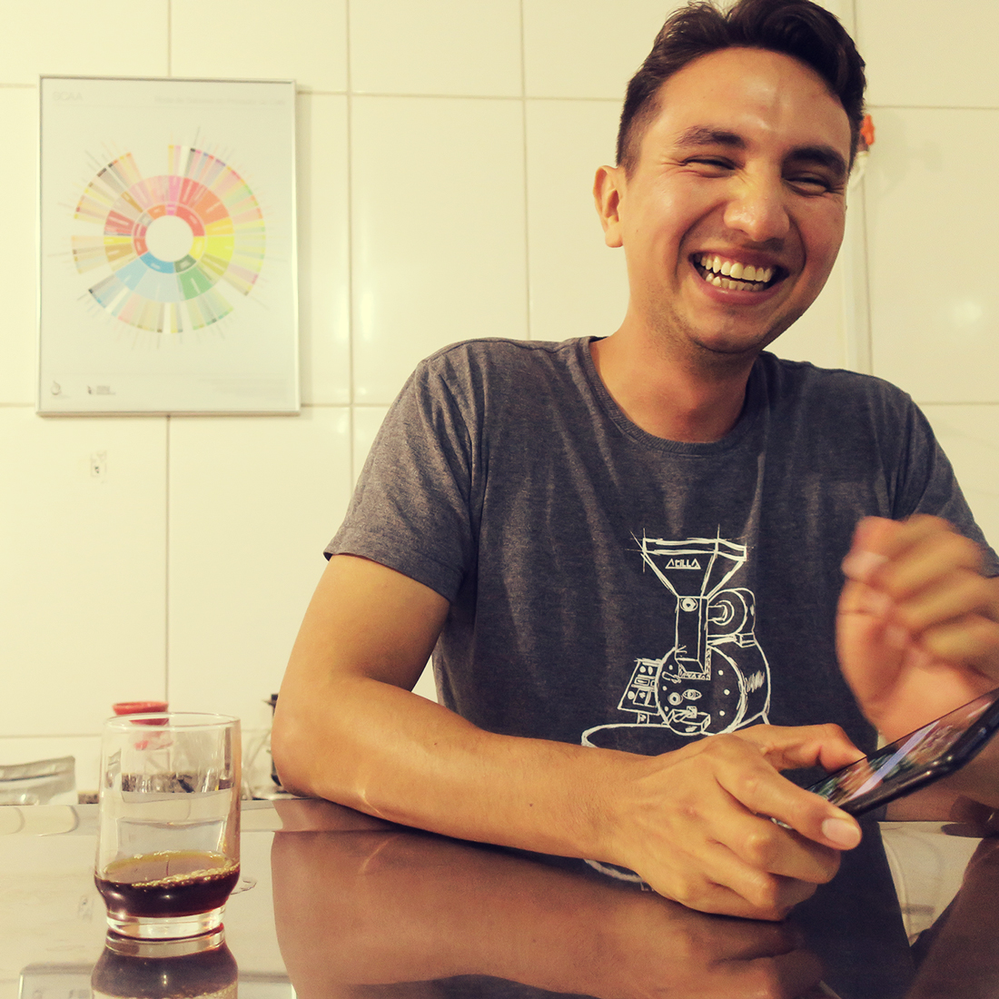 cafeicultor sorrindo